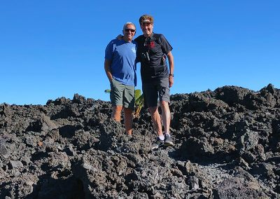 Hiking in Hawaii's Volcano National Park with Jack England